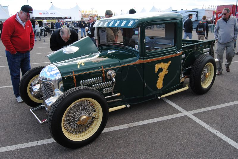 1932 Ford pickup Miller Hauler, formerly owned by George Poteet