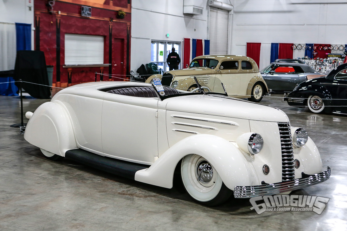 1936 Ford Roadster - Brandon Penserini | Goodguys Custom of the Year contender