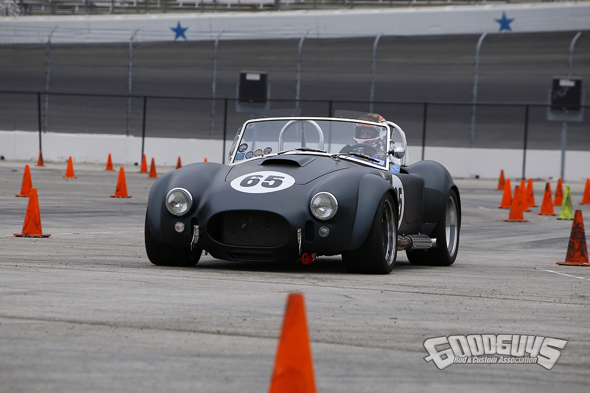 1965 shelby cobra kevin diagle at Goodguys AutoCross Results, 7th Spring Lone Star Nationals