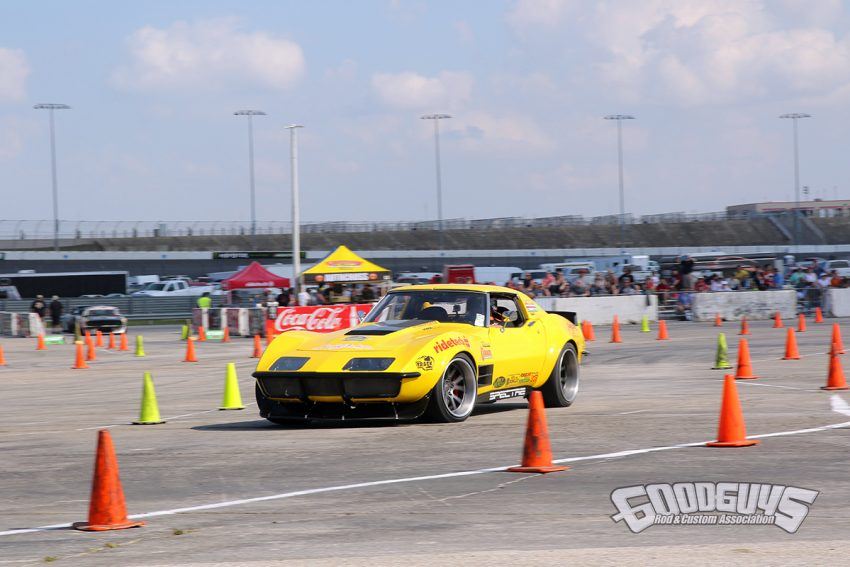 Chris Smith RideTech Corvette | Goodguys AutoCross Results, 7th Spring Lone Star Nationals
