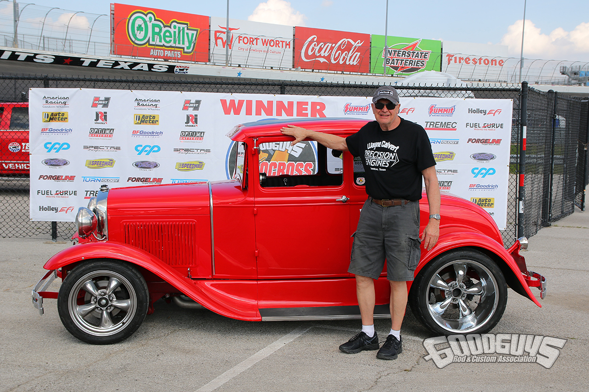 Morgan Martin – 1930 Ford Model A winner hot rod class goodguys autocross