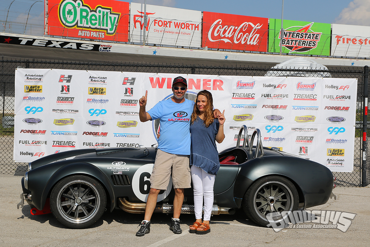 Kevin Diagle – 1965 Shelby Cobra - winner Street Machine class Goodguys AutoCross
