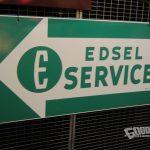 1958 era Edsel Service sign | 2017 Barrett-Jackson Scottsdale