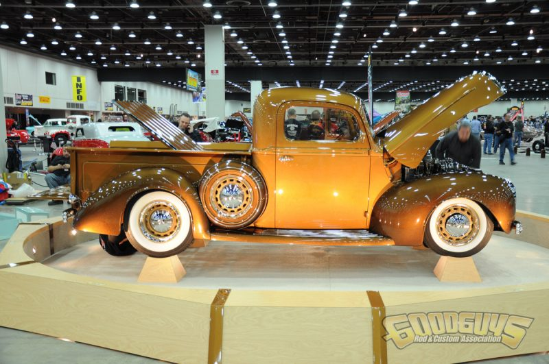 """Ed Sears, Annapolis, MA – """"The Gold Standard"""" 1941 Ford Pickup"""