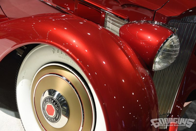 1936 Packard Mulholland Speedster built by Hollywood Hot Rods
