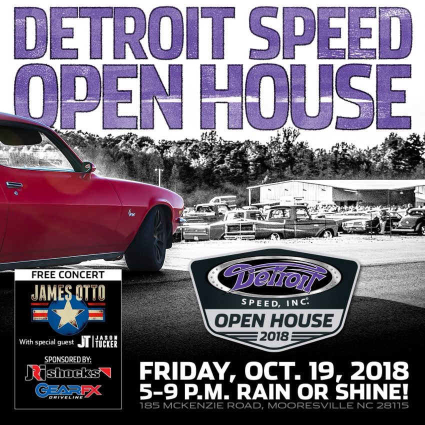 detroit speed open house, goodguys