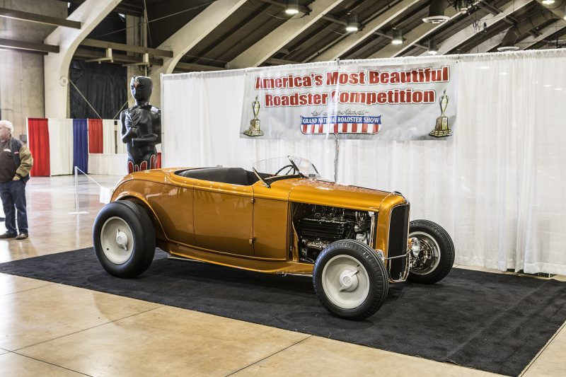 Dr Dan Pterson, 1932 Ford Roadster