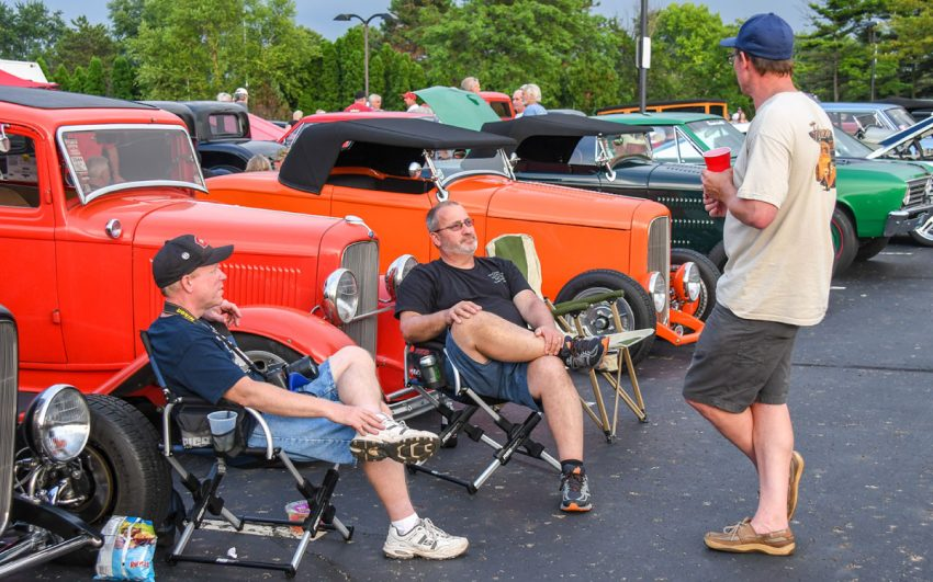 poker run and parties at 21st ppg nationals, goodguys