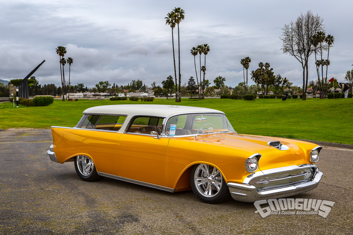 """1957 Chevy Nomad """"Shomad"""" Ron Maier"""